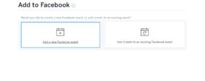 Eventbrite Facebook Integration 2