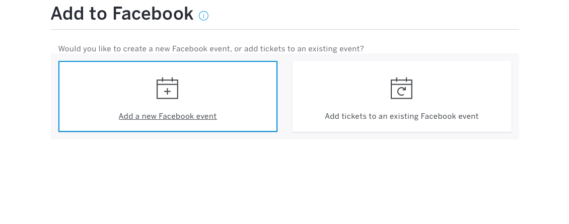 Eventbrite Facebook Integration 2